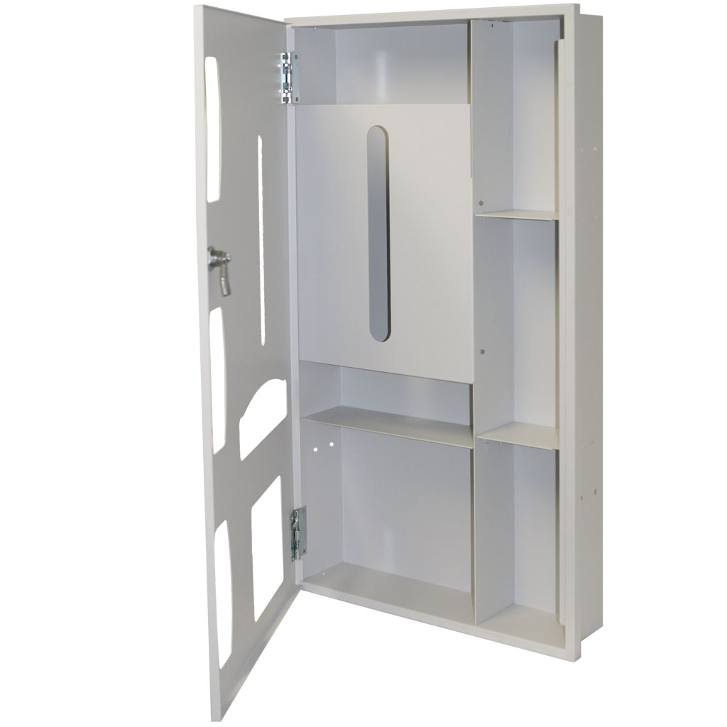 Semi-Recessed - Protective Wear Organizer - Space Saver