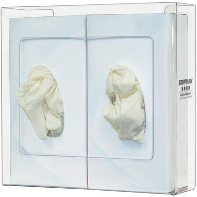 Glove Box Dispenser - Double - Narrow