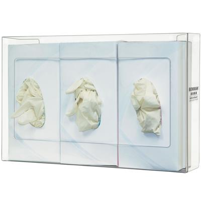 Glove Box Dispenser - Triple - Narrow