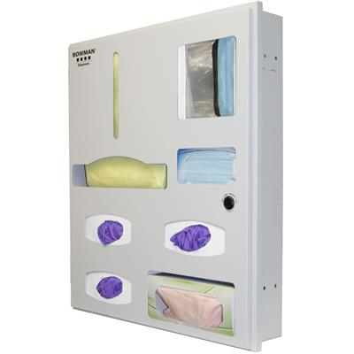 Semi-Recessed - Protective Wear Organizer